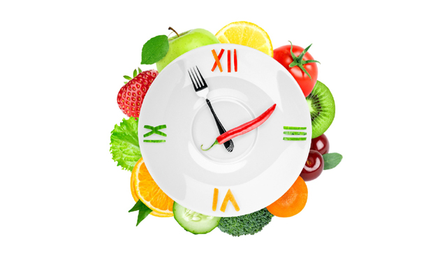 Clock_Vegetables_Fruit