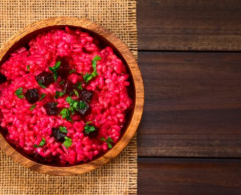 Risotto alle rape rosse - Ricetta 3EMME